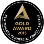 NZ Commercial Project Awards - Gold Award 2015